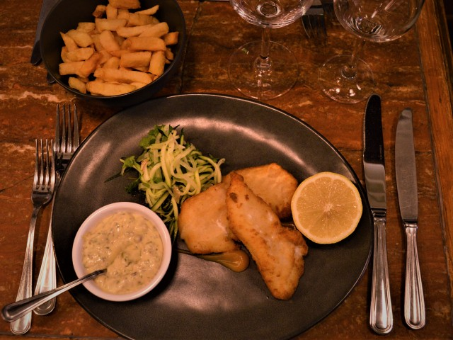 Le Scheltema Fish and chips