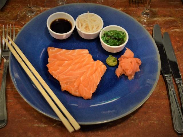 Le Scheltema Sashimi de saumon